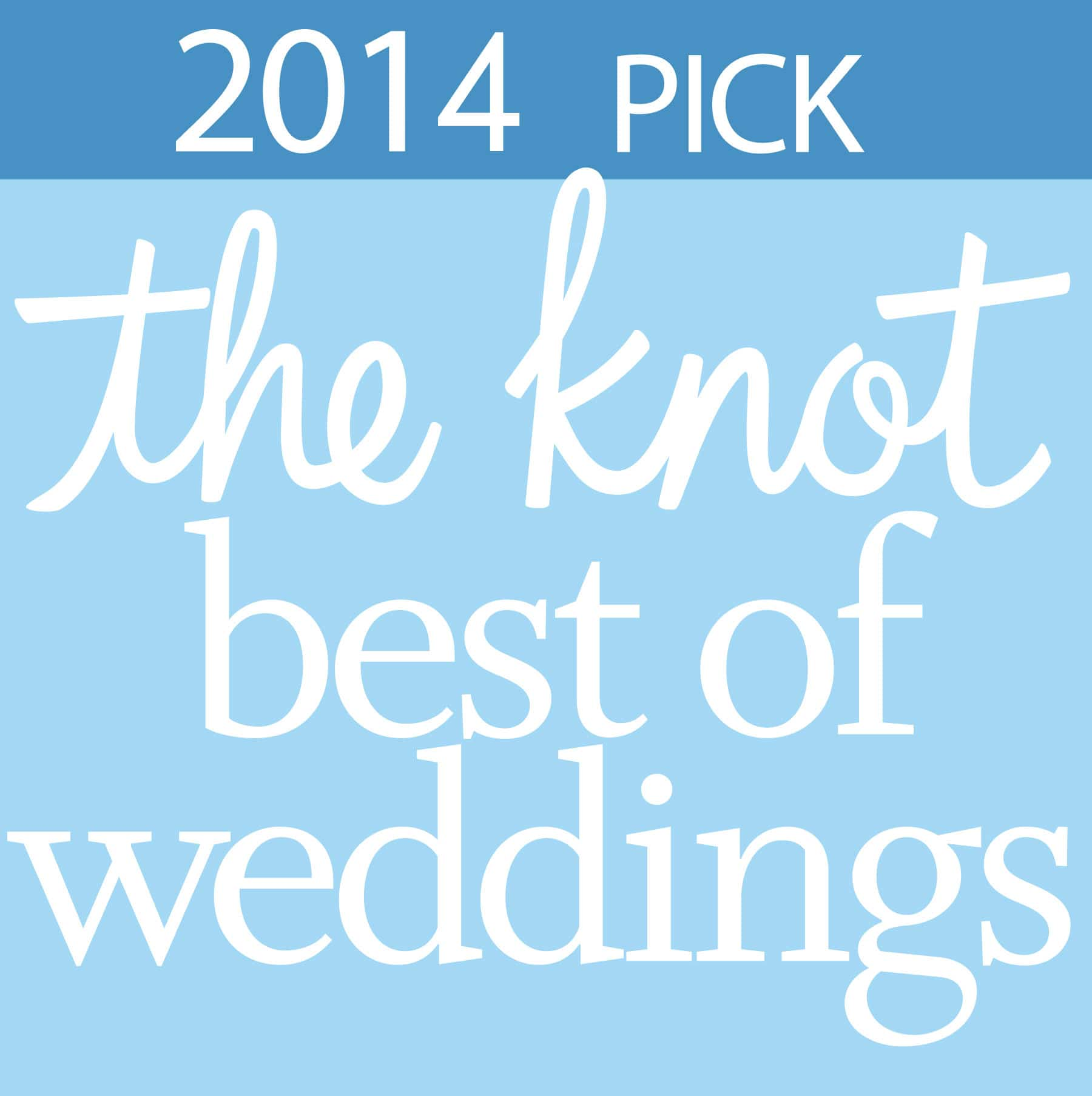 Knot best of weddings logo 2014